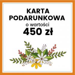 Karta Podarunkowa 450
