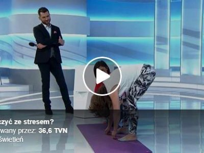 Ćwiczenia TRE® w TVN w programie 36,6° Ewy Drzyzgi