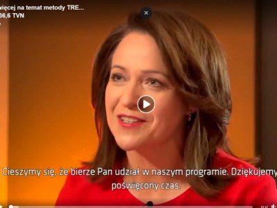 Ćwiczenia TRE® – wywiad Ewy Drzyzgi z dr David Berceli