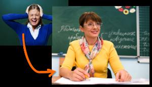 nauczyciele bez stresu, stres w szkole, stres w pracy nauczyciela