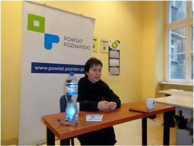 Spotkanie Wioli z osobami niepełnosprawnymi, opiekunami i wolontariuszami w PION